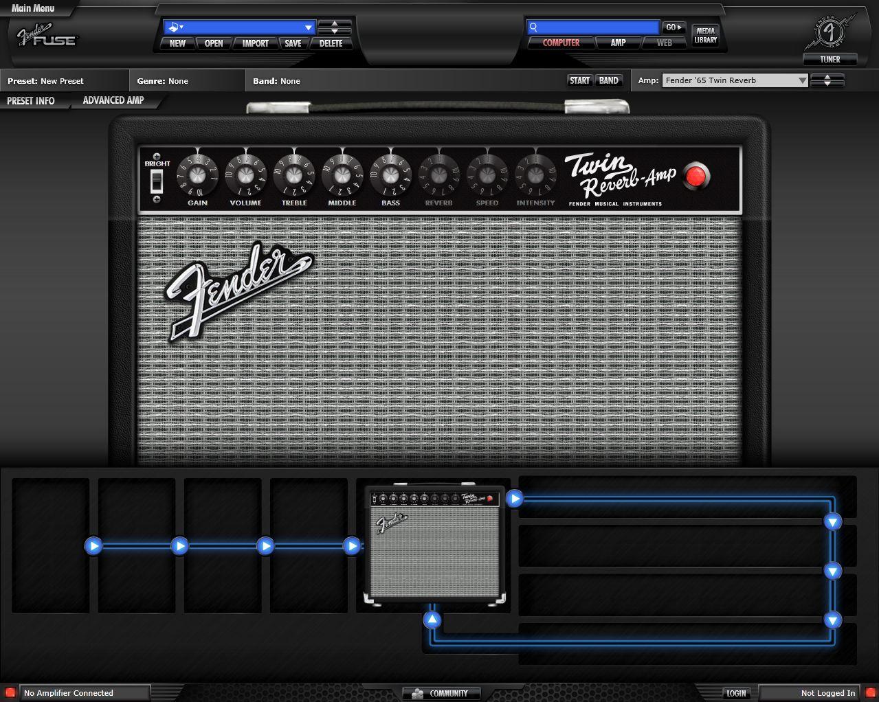 FUSE Amp theme