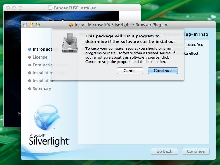 FUSE install Mac SL1