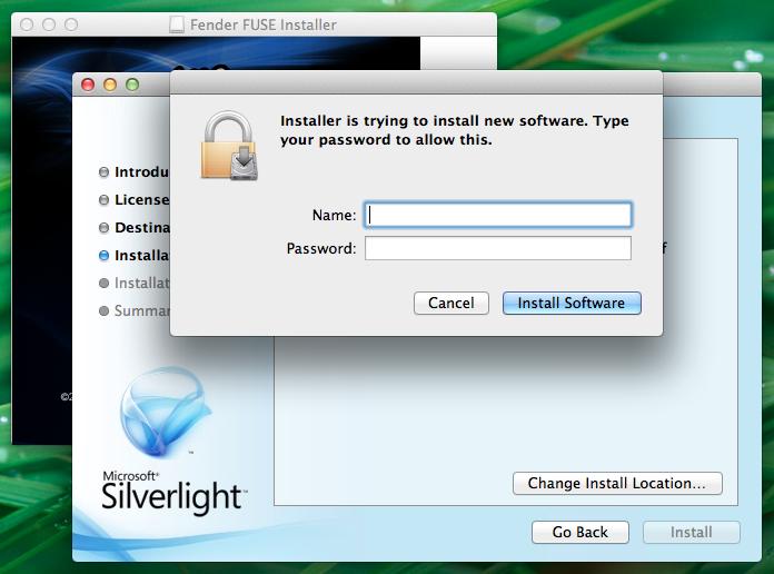 FUSE install Mac SL6