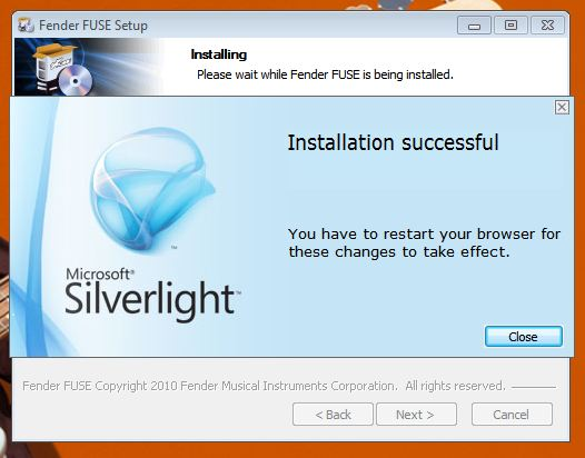 FUSE install Win5 SL3