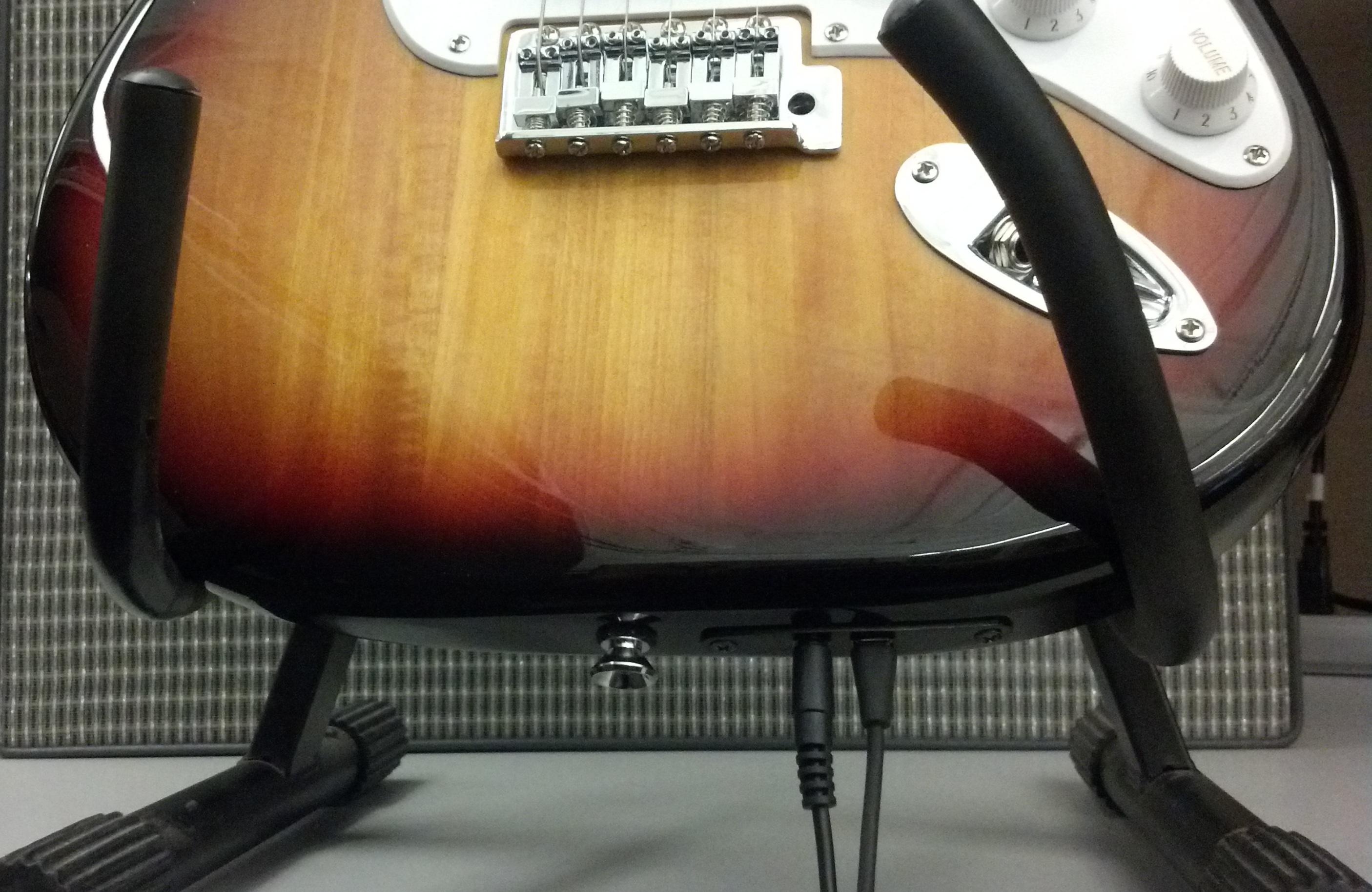 Squier Strat USB Guitar Cables