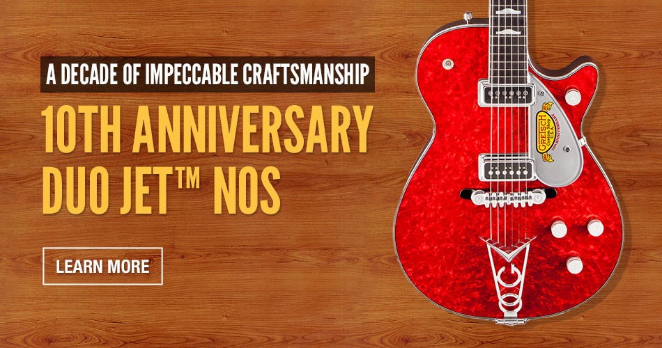 Custom Shop 10th Anniversary Duo Jet Nos