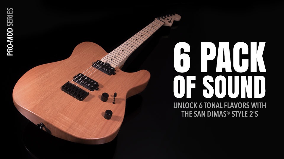 pedigreed shredders, pro-mod san dimas� guitars are packed with high-speed  playability and innovative design elements that epitomize charvel's  definitive