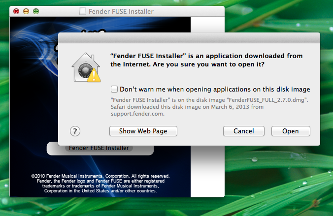 How can I download and install Fender® FUSE™ on Mac OS X? – Fender