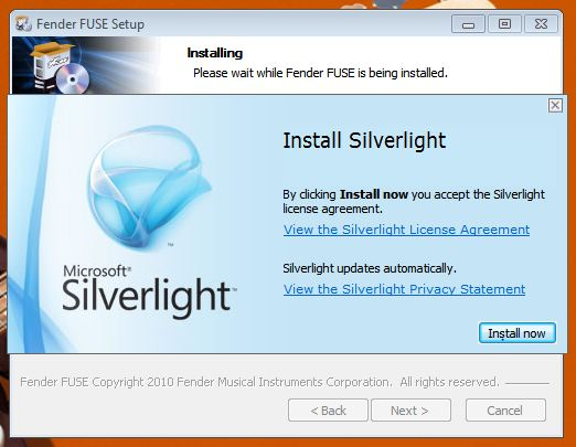 FUSE install Win5 SL2