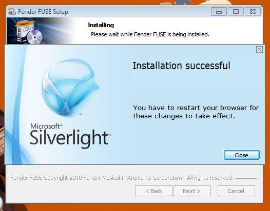 FUSE install Win5 SL3