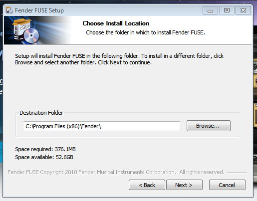 FUSE install Win3
