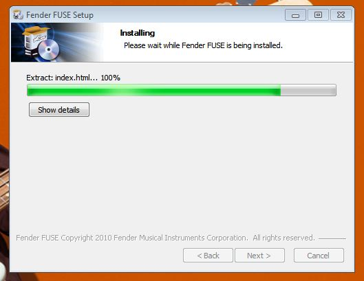 FUSE install Win5